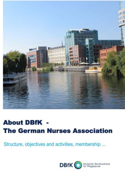 Flyer English: About DBfK